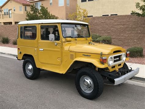 Used Toyota Land Cruiser For Sale By Owner 1977 Toyota Land Cruiser Fj40 Classic Car By Owner Las