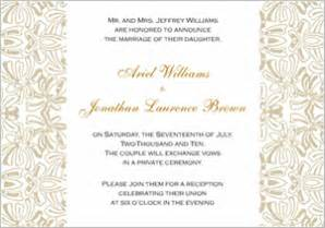 Wedding reception invitations wording amp etiquette storkie