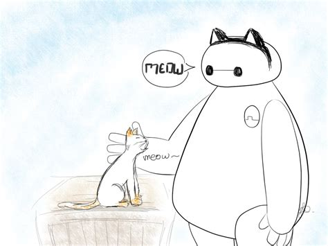 doodle baymax just a lil baymax doodle by fay oh nah on deviantart