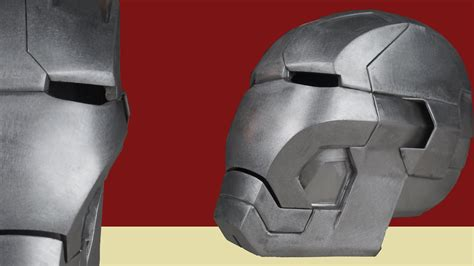 How To Make A Ironman Helmet Out Of Paper - the metal iron helmet mk 42