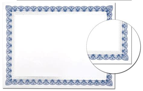 7 best images of blue certificate border template blue