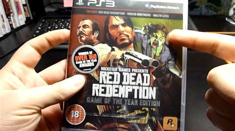 Bd Ps3 Dead Redemption Of The Year Edition dead redemption of the year edition unboxing ps3