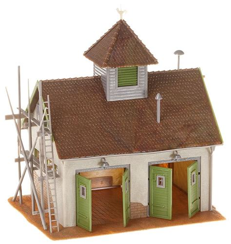 Faller Countrysite Decor Acceessories Miniature Building Ho Scale faller 130268 rural station