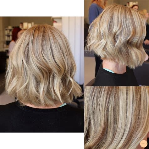 Blond Frisyr by Kall Blond H 229 Rf 228 Rg Med Mjuka Slingor Och Page Frisyr