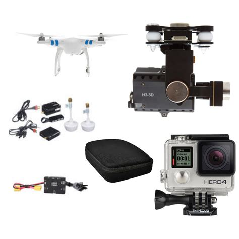 Dji Phantom Gopro dji phantom 2 quadcopter with gopro hero4 black edition deluxe summertime bundle fumfie