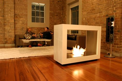 freestanding outdoor fireplaces decosee
