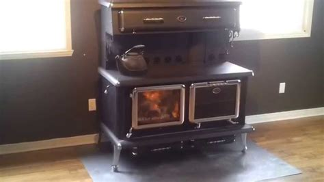 Ranch Home Kitchen Design by J A Roby High Efficiency Wood Burning Cook Stove