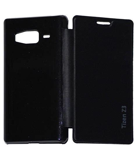 Flip Samsung Z3 osr flip cover for samsung tizen z3 black flip covers