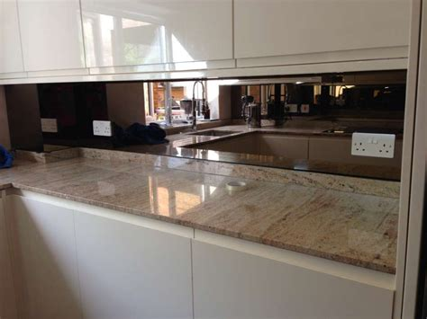 splashback ideas for kitchens bronze mirror splashback glass splashbacks