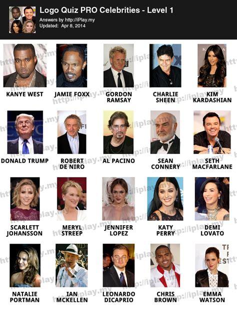 celebrity trivia games online logo quiz printable newhairstylesformen2014