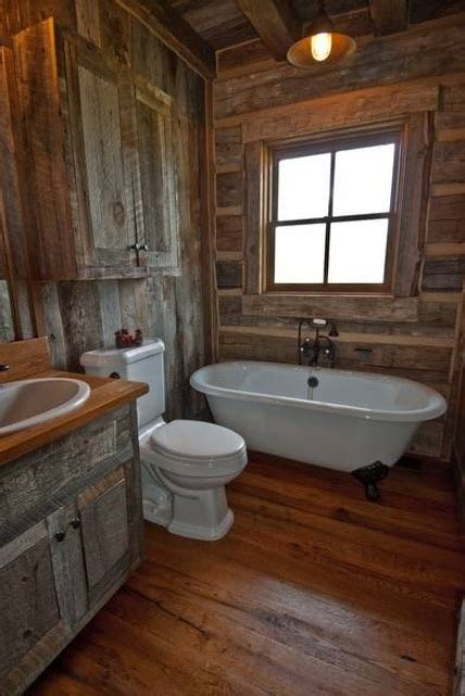 cabin bathrooms ideas 44 rustic barn bathroom design ideas digsdigs