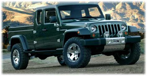 new jeep truck 2018 2018 jeep wrangler truck specs rumors release