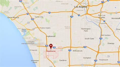 hawthorne california cessna plane crashes into apartments in hawthorne