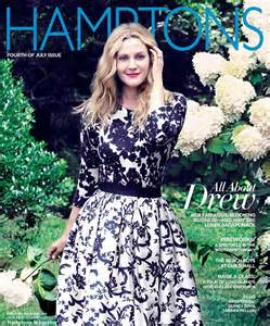 Drews A Cover drew barrymore on why she s putting family before