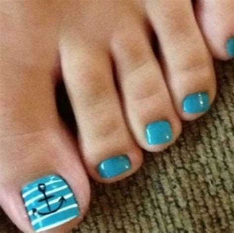 Anchor Toe Nail Designs anchor toe nail designs 111 ideas in pictures 14 1 jpeg
