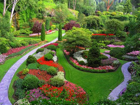 Garden Of The by 1 World Knowledge The Butchart Gardens