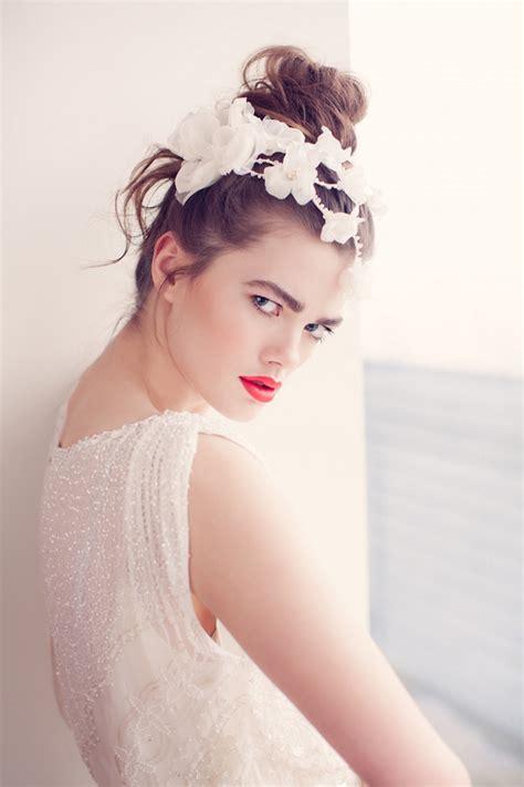 creative  elegant wedding hairstyles  bridal