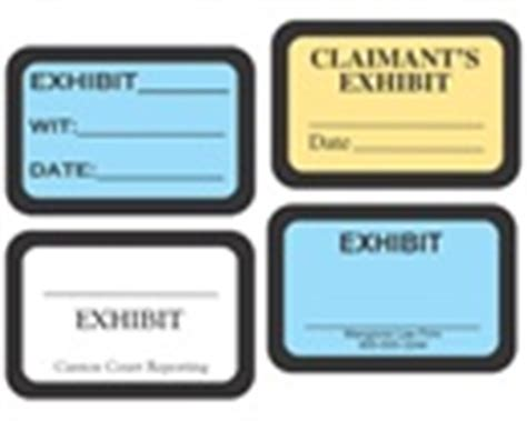 printable exhibit labels laser exhibit labels