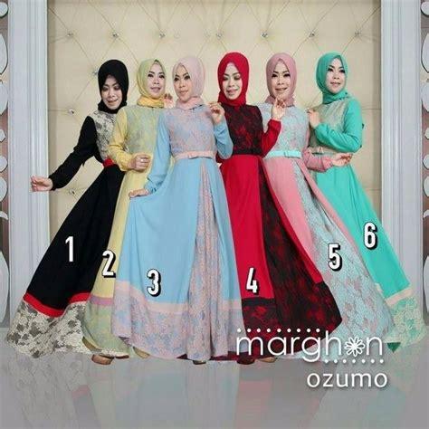 Gamis Syar I Crepe Kode 703 baju busana muslim brokat model syar i ozumo by marghon