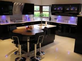 Modern black kitchen amp lighting home decorating pinterest
