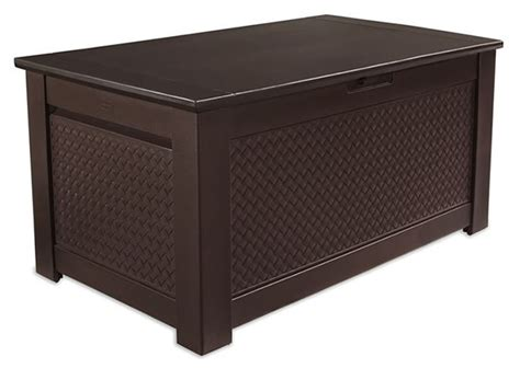 sears storage bench rubbermaid patio chic storage bench deck box outdoor
