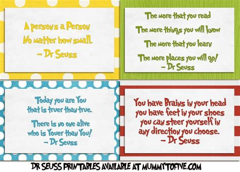 printable quotes for classroom printable dr seuss sayings there are four different
