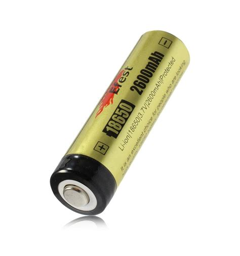 Efest 18650 Li Ion Unprotected Battery 3 7v With Flat Top Efest 18650 Li Ion Unprotected Battery 2600mah 3 7v With Flat Top Black Yellow