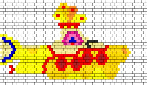 strumming pattern for yellow submarine the beatles yellow submarine bead pattern peyote bead