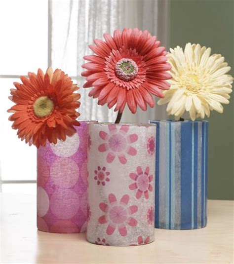 paper vase craft this easy project use tissue paper mod