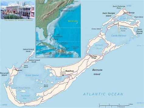 bermuda map usa bermuda map and bermuda satellite images