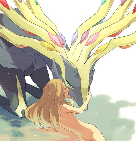 Serena And Xerneas Pokemon Pokemon Game And Pokemon Xy Drawn By Nidodema Danbooru