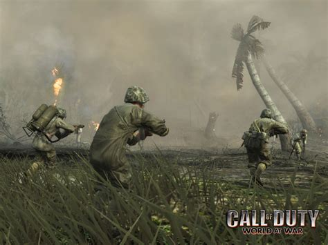 Call Of Duty World At War War 1928 infantry charge