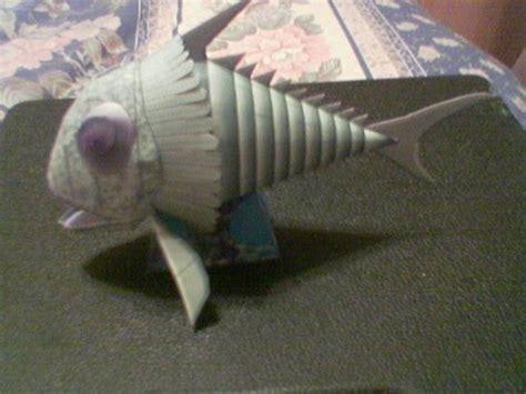 Fish Papercraft - stingray titan s terror fish papercraft papercraft