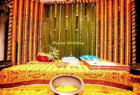 simple holud stage.   Desi Weddings :)   Stage design