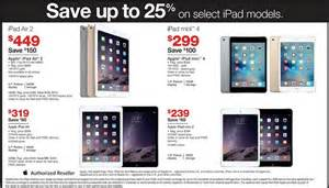 ipad air thanksgiving black friday 2015 doorbusters of 299 apple ipad mini 4