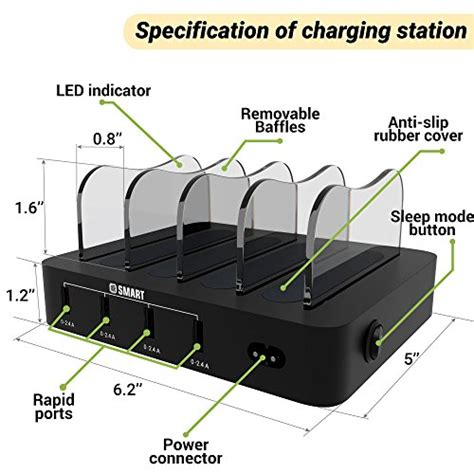 charging stations fast multiple devices charging station usb charging station fast charging dock 4 port cell