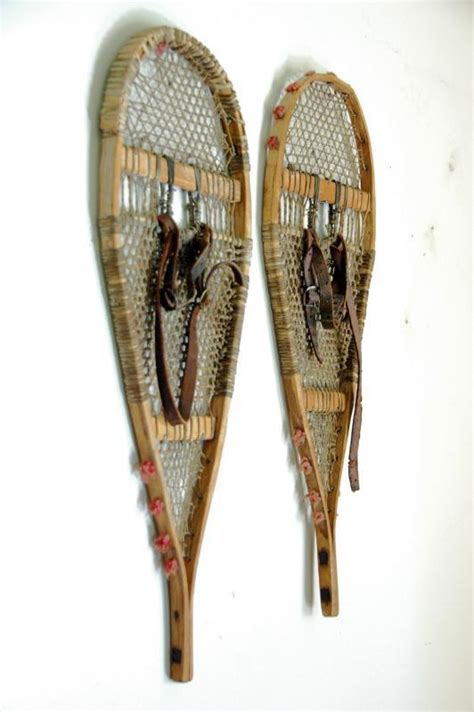 Antique American Indian Children Snowshoes Antique American Indian Children Snowshoes Vintagewinter