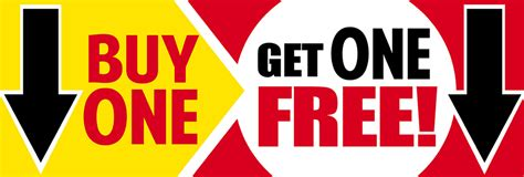 buy one drink get one free card template buy one get one free mr price branded bargains ireland