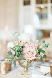 blush and gold wedding decor 25 best ideas about gold vase centerpieces on