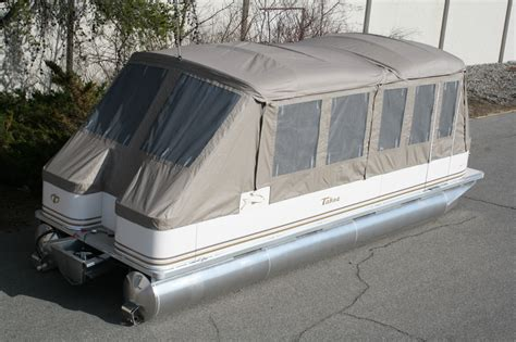 new 24 ft high end pontoon boat with cer enclosure boat - Pontoon Boat Enclosures Prices