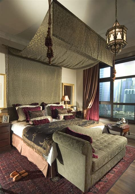 Moroccan Inspired Bedroom | modern morrocan design sg livingpod blog