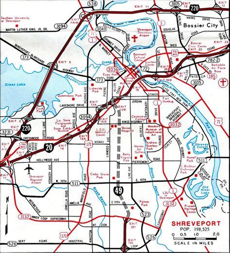 louisiana freeway map interstate guide interstate 49