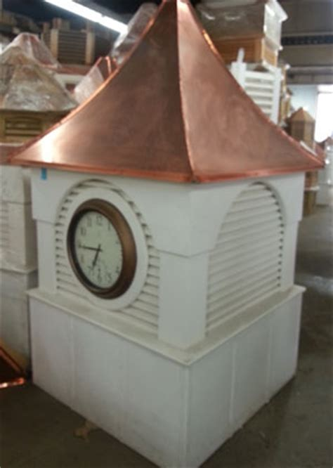 Used Cupolas For Sale 48 Vinyl Large Louvered Cupola Can Be Purchased With Or