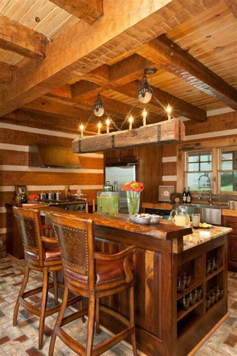 Log Cabin Kitchens by Kitchen Log Cabin Cabins Big Cabins Small