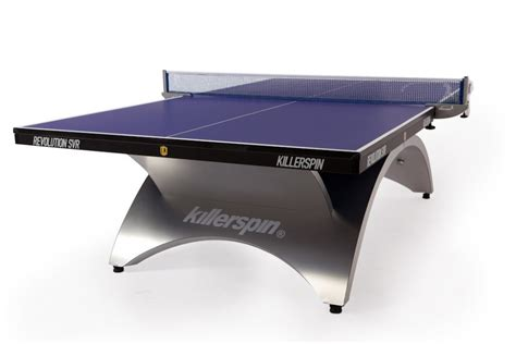 killerspin ping pong table killerspin revolution svr table tennis ping pong blue
