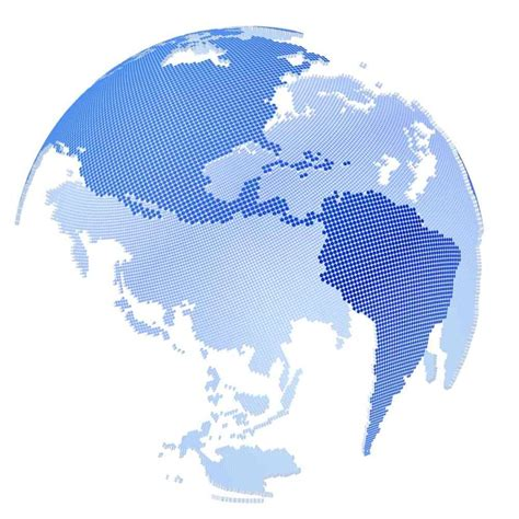 dot pattern globe globe dotted 3d max