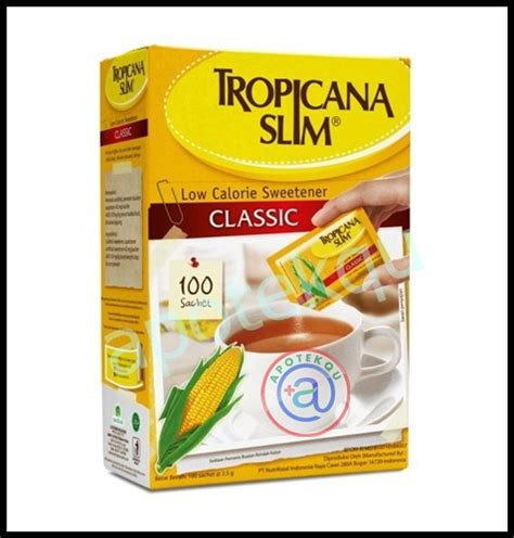 Tropicana Slim Classic 100g 1 tropicana slim classic 100 s apotekqu apotekqu