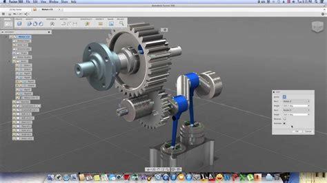 Ato Desk by Autodesk Fusion 360 Motion