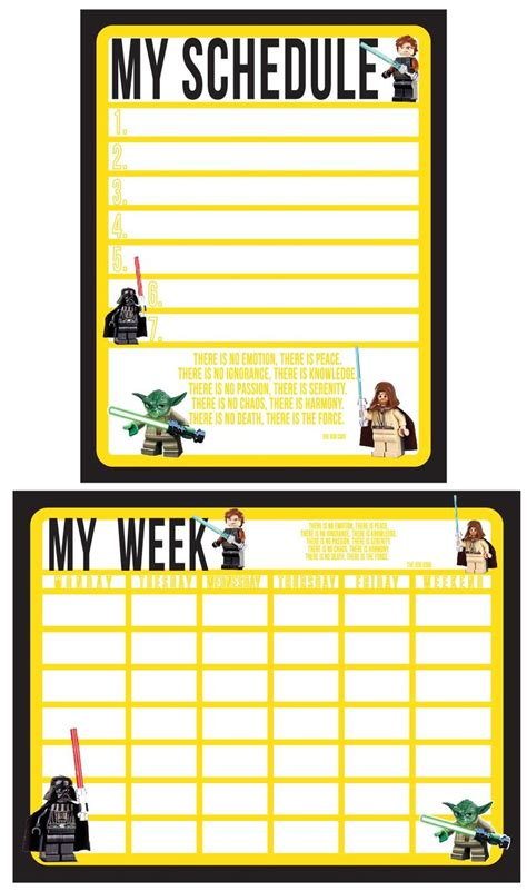 printable star wars growth chart 1000 ideas about kids schedule chart on pinterest kids