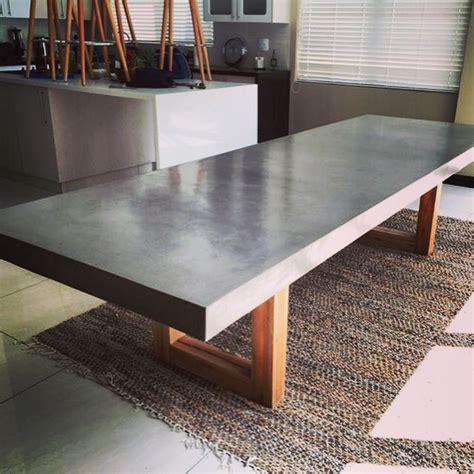 concrete dining room table concrete dining table concretefurniture concretedesign